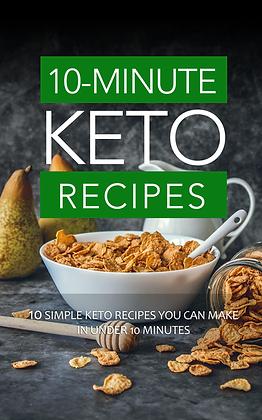 10-Minute Keto Recipes