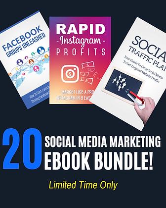 Social Media Marketing Bundle (20 Ebooks)