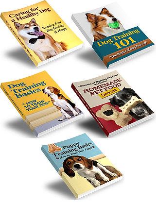 Dog Training Essentials - 5 Books Value Pack