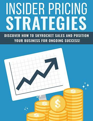 Insider Pricing Strategies