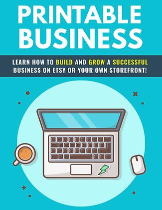 Printable Business