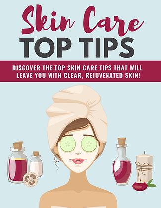 Skin Care Top Tips