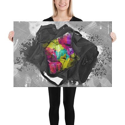 Duffle Bag Money (Canvas)