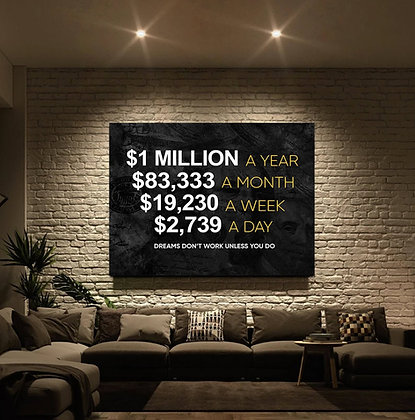$1M Per Year (PRINTABLE WALL ART)