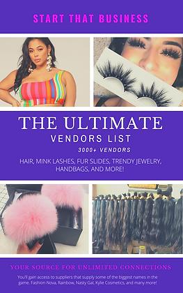 The Ultimate Wholesale Vendors List - 3000+ Top Vendors