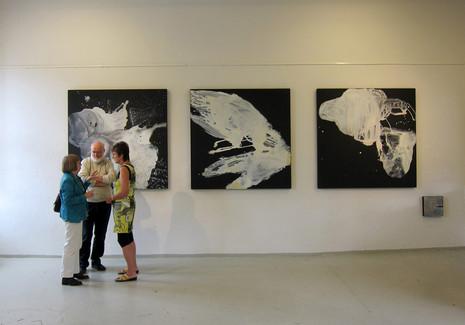 Fra utstillingen Cirqilo, i Mariager kunstforening,dk