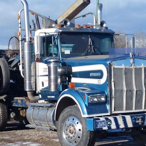 1991 W900 Kenworth 750 Log Truck
