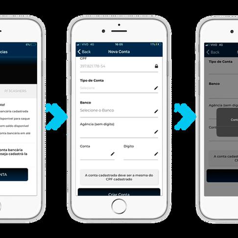 Facilidade na Palma de sua mão com o App 3cash!