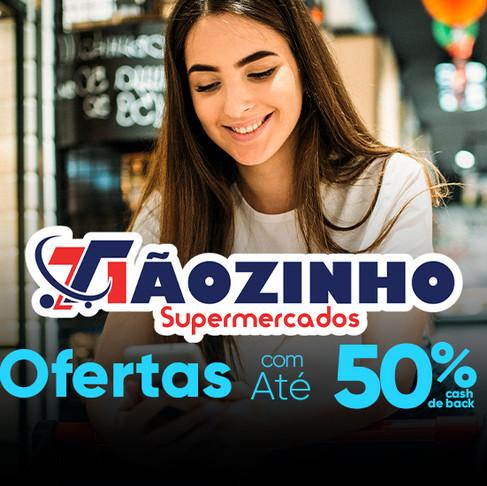 App 3cash e Tiãozinho Supermercados com OFERTAS IMPERDÍVEIS!!