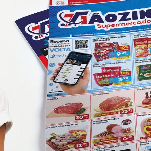 Tiãozinho Supermercados e App 3cash com OFERTAS IMPERDÍVEIS!