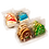 Thumbnail: HOLIDAY Hand Decorated Cookies,  Butter Recipe,  Pack of 12