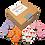 Thumbnail: DIA DE MUERTOS Hand Decorated Cookies, Chocolate Recipe, Pack of 12