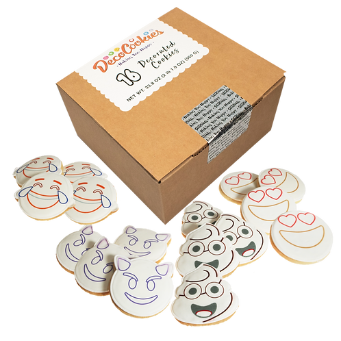 REACTION Paint Your Own Cookies Kit, Butter Recipe, Pack of 12