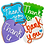 Thumbnail: THANK YOU Hand Decorated Cookies,  Butter Recipe,  Pack of 12