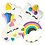 Thumbnail: UNICORN Hand Decorated Cookies, Chocolate Recipe, Pack of 12