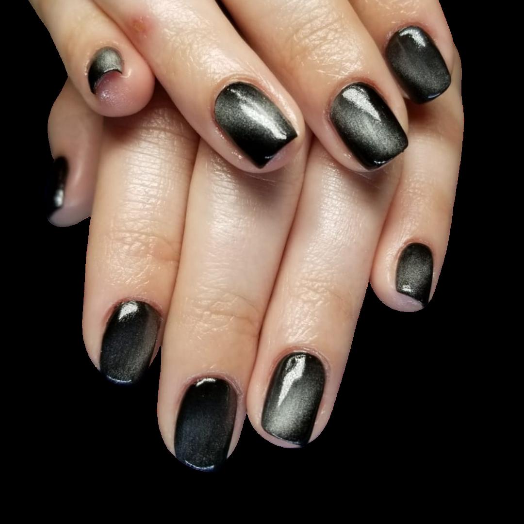 natural nails / magnetic