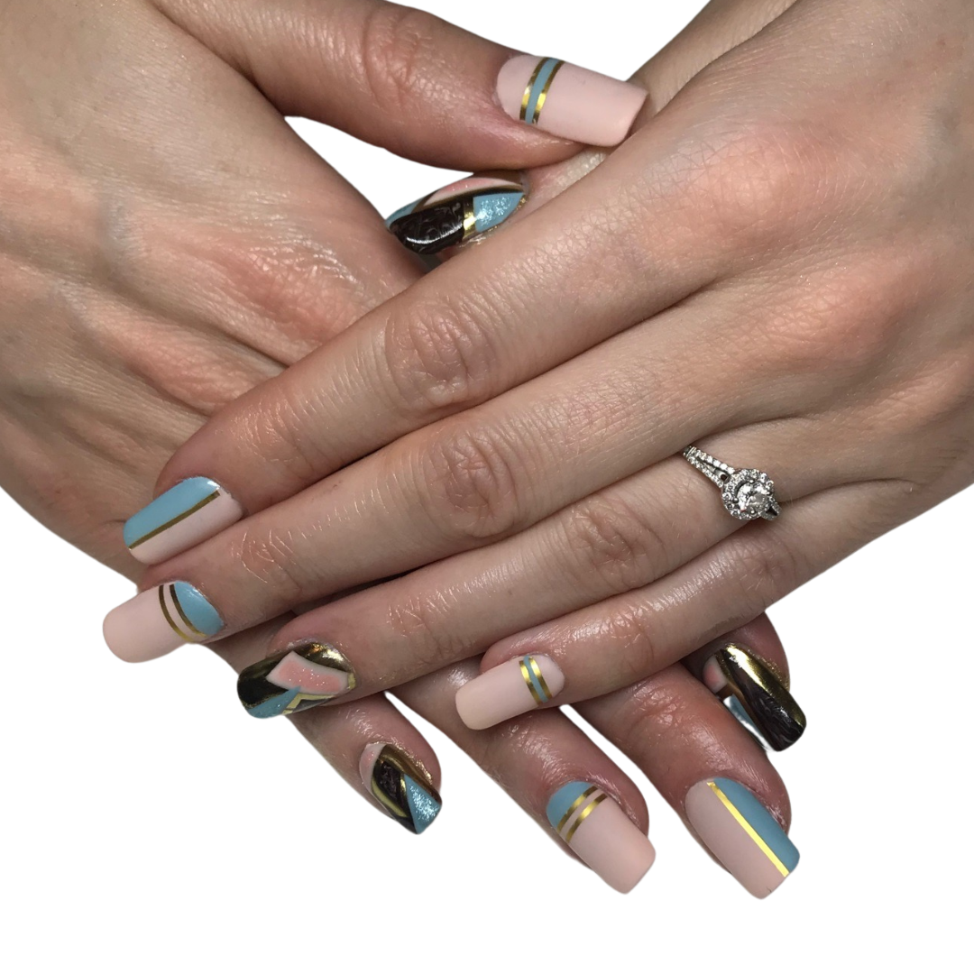 extensions / chrome / hand painted