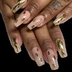 natural nails / charms
