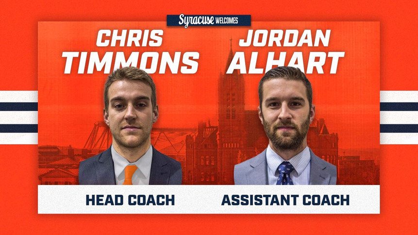 Syracuse Appoints New Coaching Staff