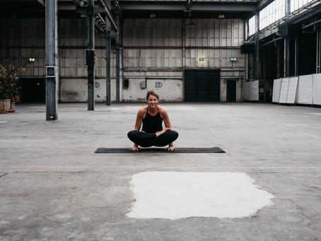 Tè druk voor yoga...