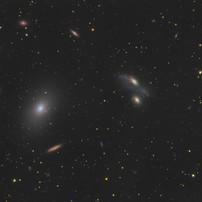 Markarian's Chain - Galaxies