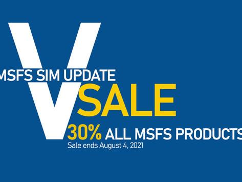 Sim Update V Sale and Info
