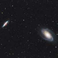 Bode's Galaxy and Cigar Galaxy
