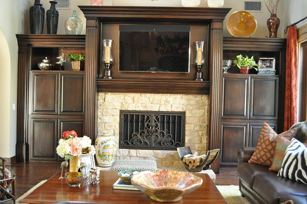 Fireplace Doors Model 5 - Iron Door Concepts/Wrought Iron Doors/Staircases/Tustin, CA