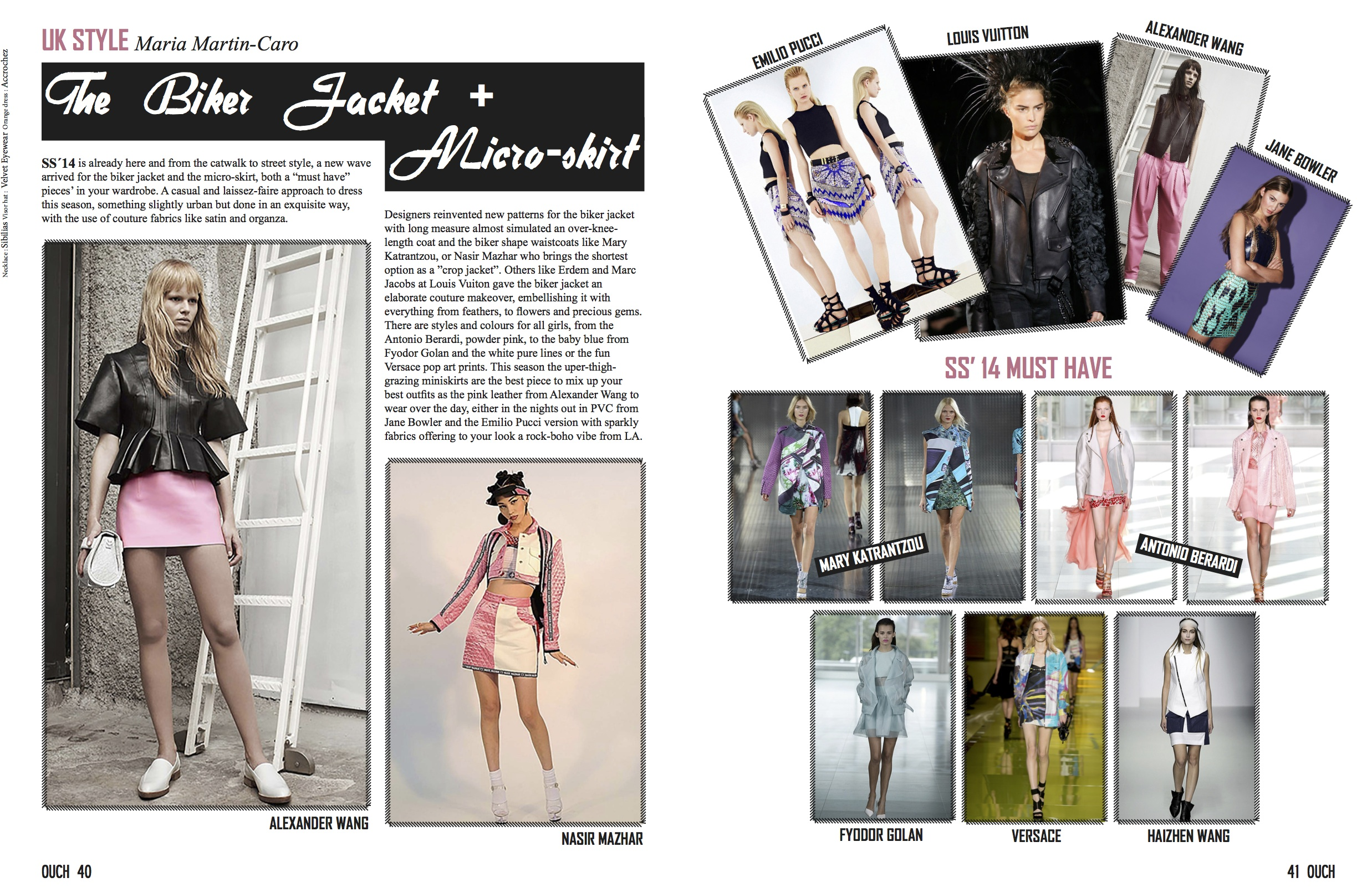 OUCH magazine - Trends Report
