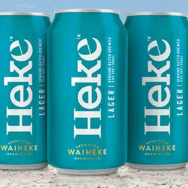 I was interviewed on Radio New Zealand National about 'Heke' beer