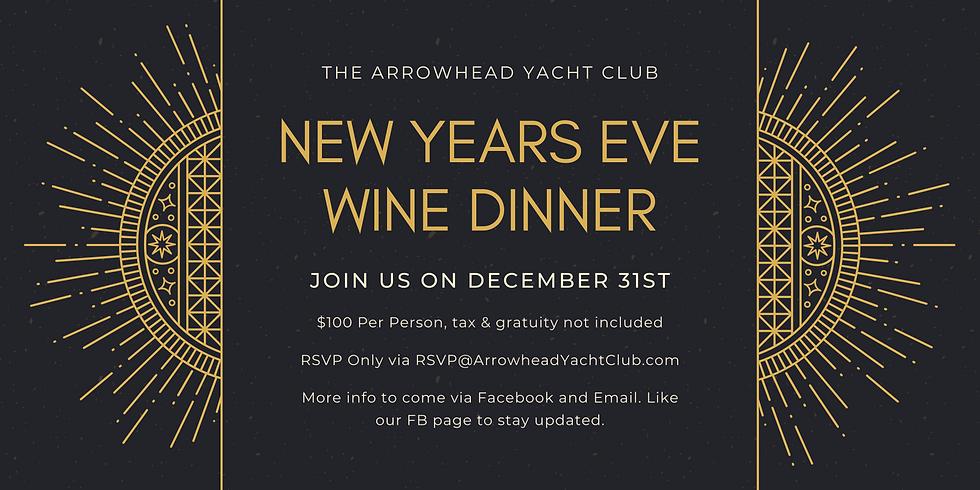 New Years Eve Dinner