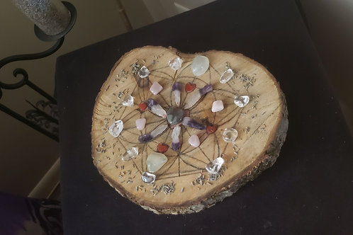 Love Energy Crystal Grid