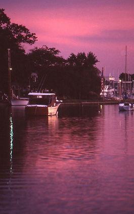 Milford, CT Harbor Sunset