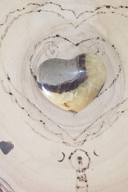 Medium Septarian Heart (#2)