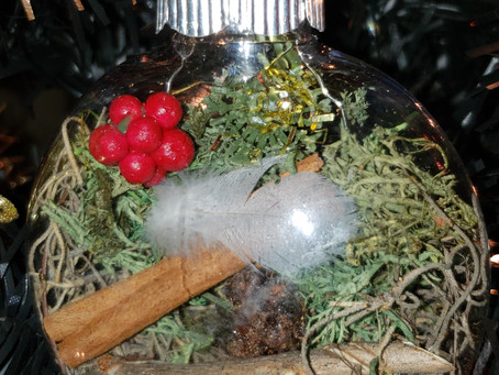 Yule Witch Protection Ornament