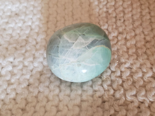Garnierite Palm Stone
