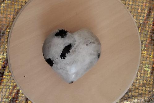 Moonstone Chunky Heart
