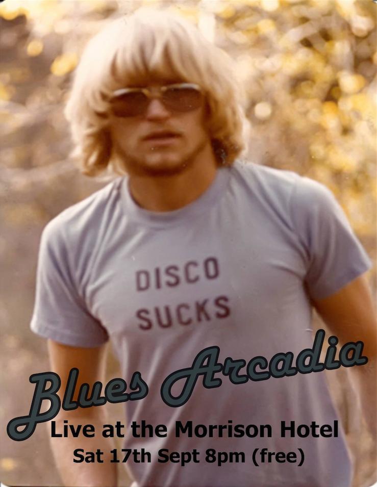 Blues Arcadia at Morrison at Hotel Sept 30th 2016
