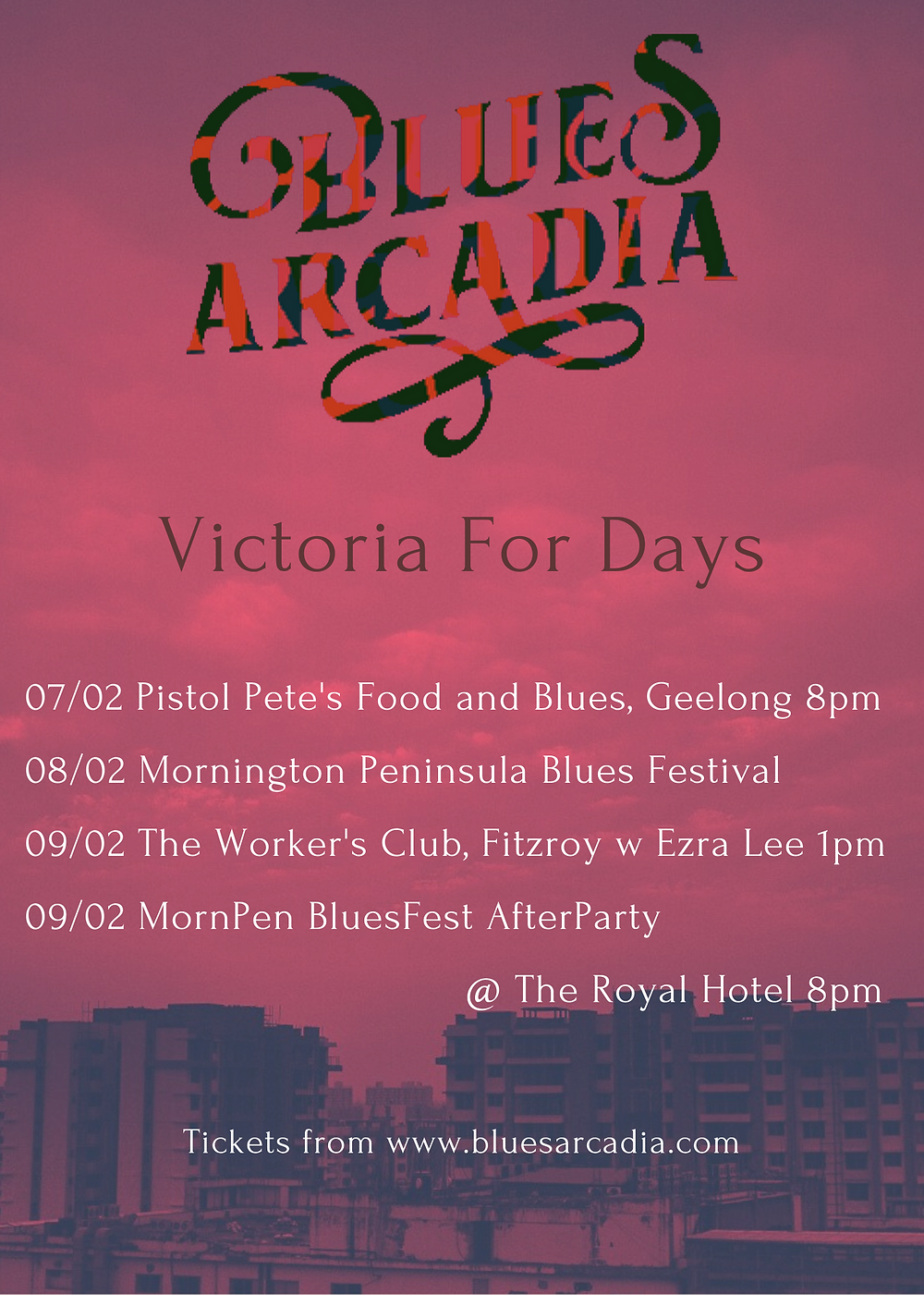 Melbourne and Mornington Peninsula Blues Festival