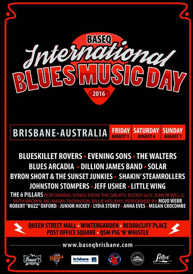 International Blues Music Day poster