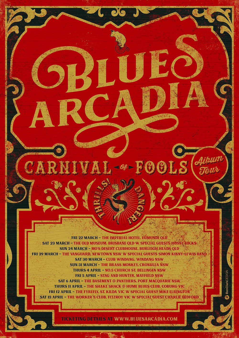 carnival of fools album release and tour dates