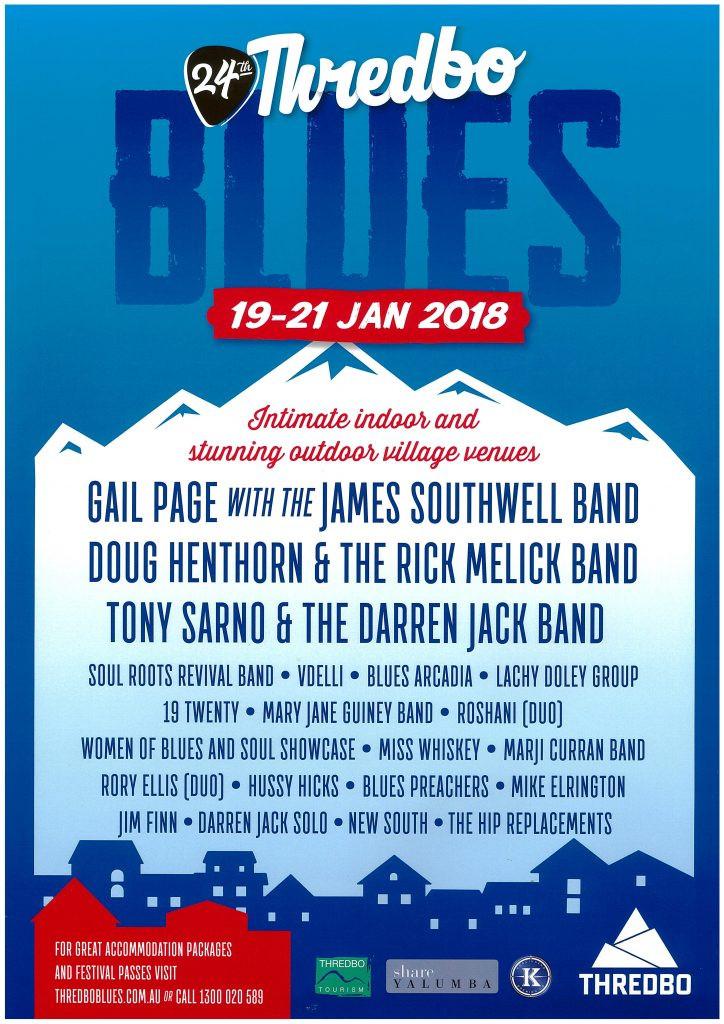 Thredbo Blues Festival 2018