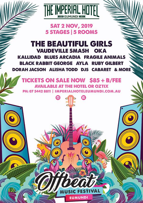 Offbeat Festival 2019 Eumundi