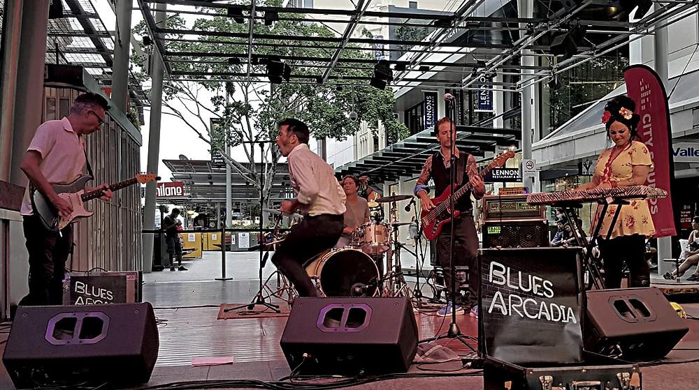 Blues Arcadia, Queen Street Mall Brisbane