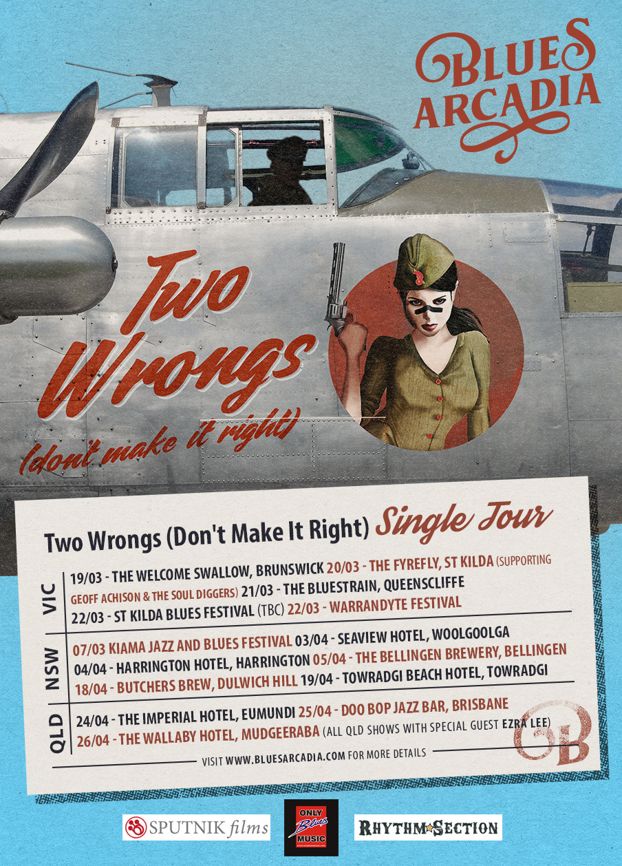 Two Wrongs (Don't Make It Right) single tour