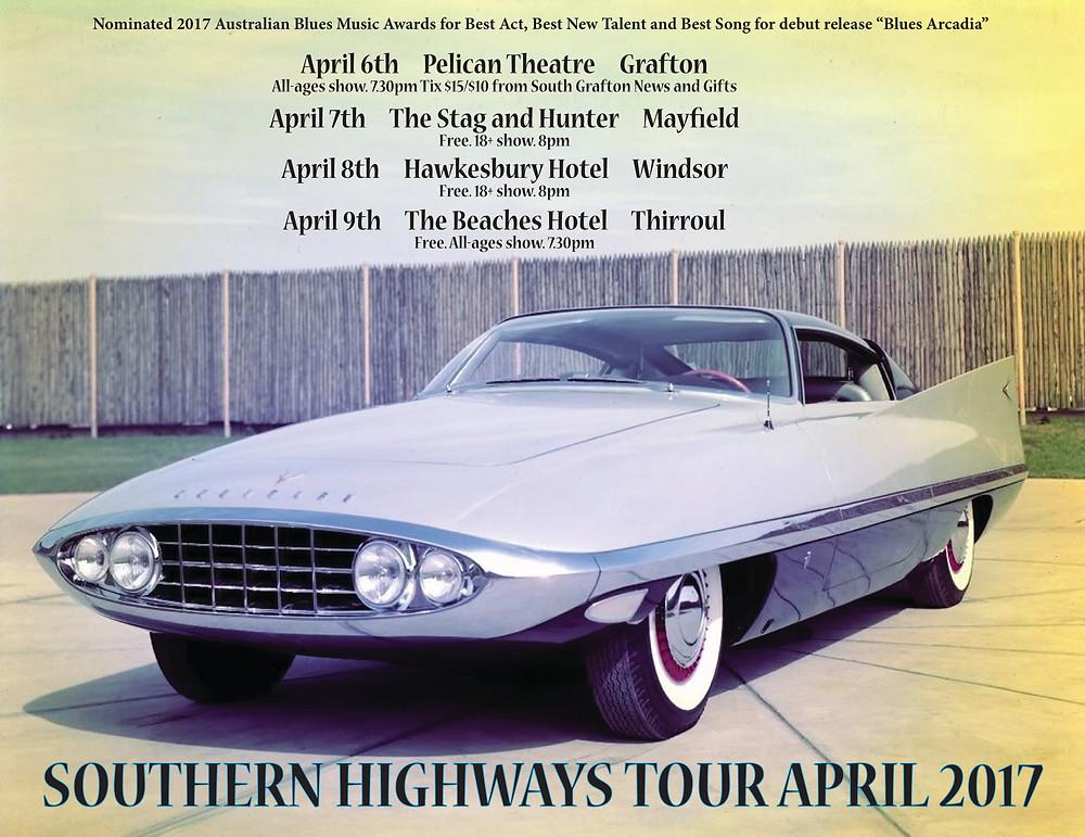 Blues Arcadia Southern Highways Tour 2017