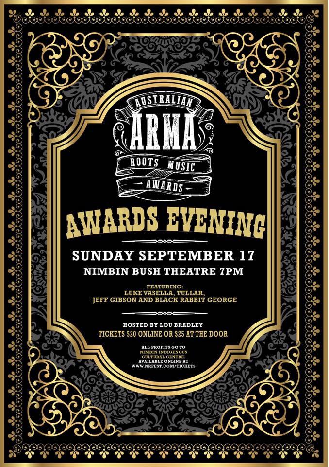 Blues Arcadia, Australian Rots Music Awards nominee