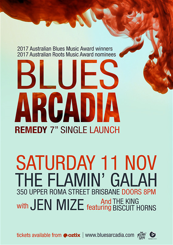 Blues Arcadia Remedy single launch Brisbane