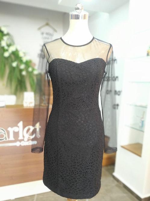 Chiffon SLV Short Dress