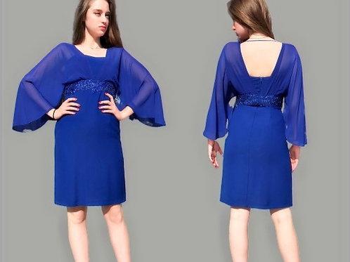 Short Blue/Red Dress